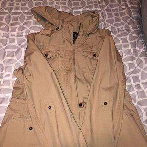 Tan colored jacket